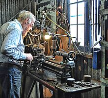 Hercus Lathe by JaninesWorld