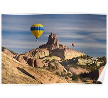 Red Rock Balloon Rally and Church Rock Poster