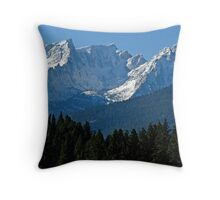 Beautiful Trapper Peak Throw Pillow