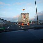 Westgate bridge crossing by byzantinehalo