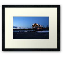 North Pole Express Framed Print