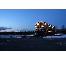 North Pole Express Photographic Print