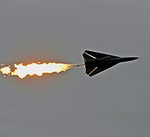 FIGHTER BOMBER F111 'DUMP AND BURN' by leikavirgin