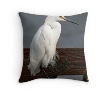 Just strollin' along  Throw Pillow