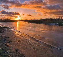 December sunset by Adri  Padmos