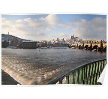 Vltava, Karlův most & Hradčany Poster