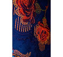 Fabric Abstract Photographic Print