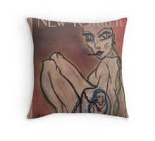 'The New Yorker' Throw Pillow