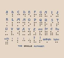 The Braille Alphabet. by albutross
