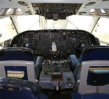 Vickers VC10 airliner Cockpit by chris-csfotobiz