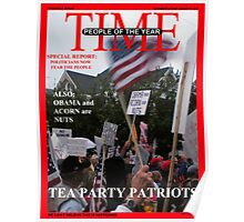 Tea Party Patriots - The Real People of the Year Poster