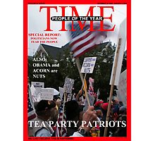 Tea Party Patriots - The Real People of the Year Photographic Print