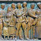 Bronze intaglio  - Burgas (Bulgaria) by Racheli