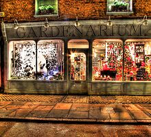Christmas Window - Hampton Court - HDR by Colin J Williams Photography