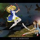 Alice v. Dorothy by Hannah Rose Williams