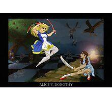 Alice v. Dorothy Photographic Print