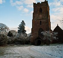 St Edburga church, Leigh, Worcestershire by Lissywitch
