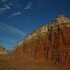 Navajo section of Monument Valley, AZ by sccaldwell