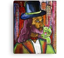 Jesus is Pimps Canvas Print