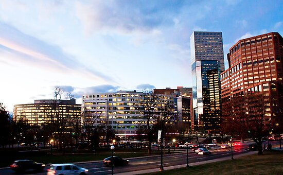 Downtown Denver by pandapix