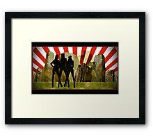 urban commandos Framed Print