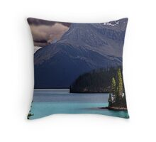 Dark Sky,Calm Waters Throw Pillow