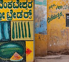 Mysore fruit and veg by Syd Winer