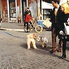 Street Scene in Italy by joycee