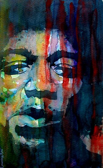 "Jimi Hendrix "" Winds Cry Mary"" by LoveringArts"