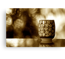 Green Tea Sir: Explore Featured Work Nov.2011; SOLD Feb, 2011: On 7 Featured Work Canvas Print