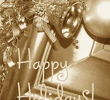 Happy Holidays by Ruth Palmer