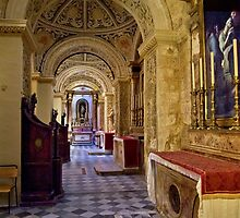 Saint Mary of Jesus (Ta' Giezu) Franciscan Church in Valletta by Edwin  Catania