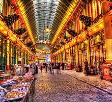 Cake Vendor  - Leadenhall Market Series -  London - HDR by Colin J Williams Photography