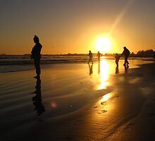 Soaking Up the Last of the Sun - Crescent City, California by mayauribe