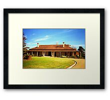 Noojee Lea Homestead - Canowindra, Australia Framed Print