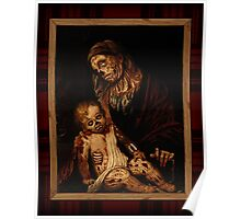 'round yon virgin zombie and child Poster