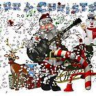 rockin santa by toady8