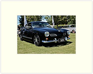 Black Karmann Ghia by Ferenghi