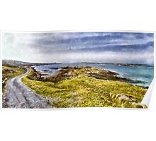 County Clare Ireland Seaside Poster