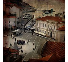 Piran City Photographic Print