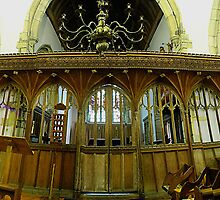 Rood, St Nicholas Church, Leeds by Dave Godden