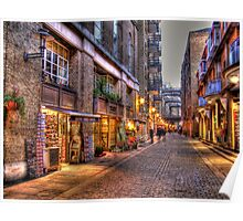 Shad Thames - HDR Poster