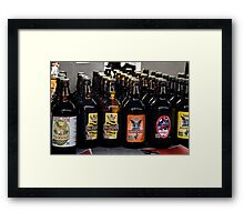 Bottled Up Framed Print