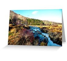 White Water on The River Duddon Greeting Card