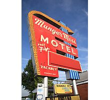 Route 66 - Munger Moss Motel Photographic Print