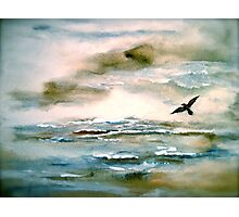 Nova Scotia...Where the Sea Meets the Sky.. Photographic Print