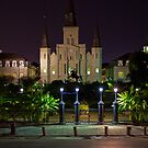 St. Louis Cathedral - New Orleans, Louisiana by jscherr