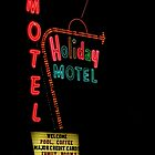 Holiday Motel by artisandelimage