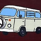 Beige VW Camper by vschmidt