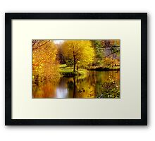 Autumn in Washington, New Hampshire Framed Print